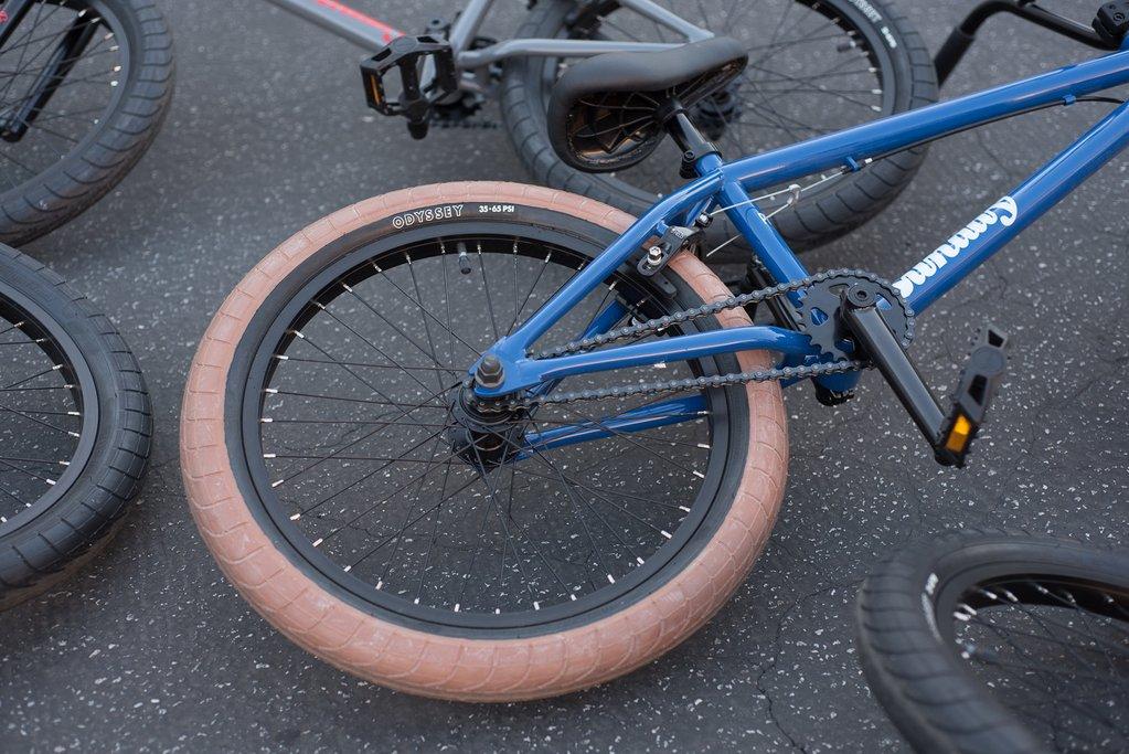 rear bmx wheel