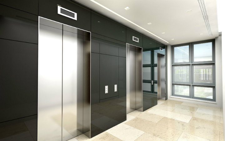 small commercial elevator