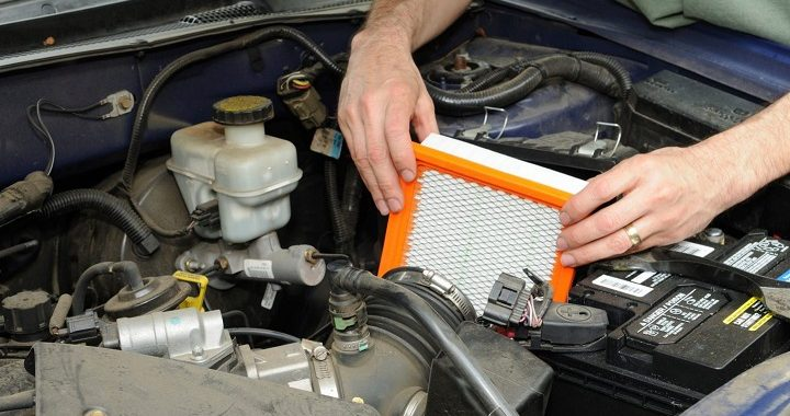 Land Cruiser air filter