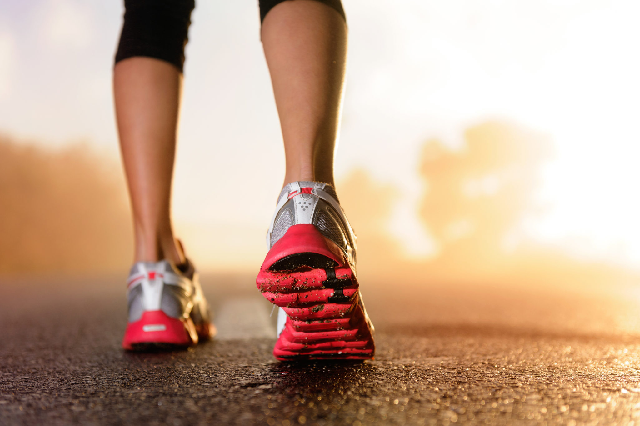 sneakers running morning