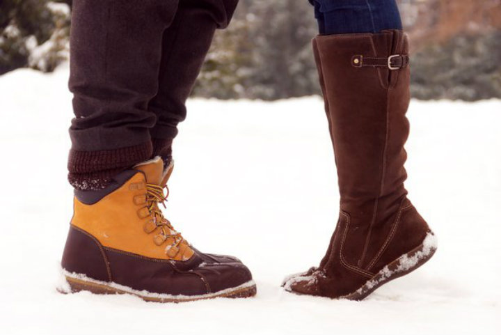 winter boots materials