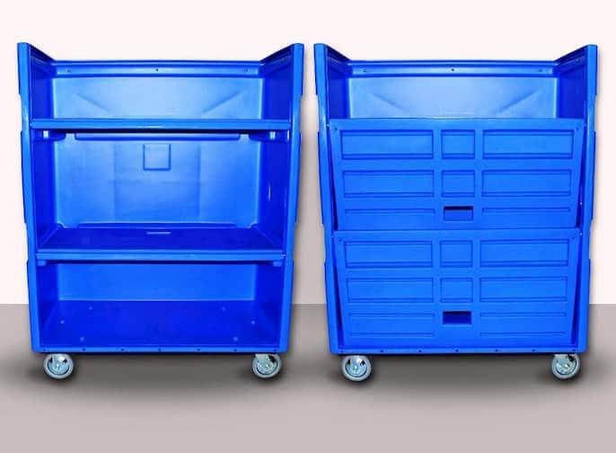 laundry truck carts