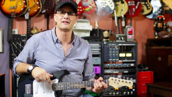 half size electric guitar
