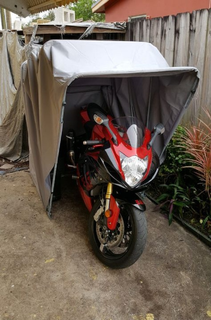 Motorbike covers size