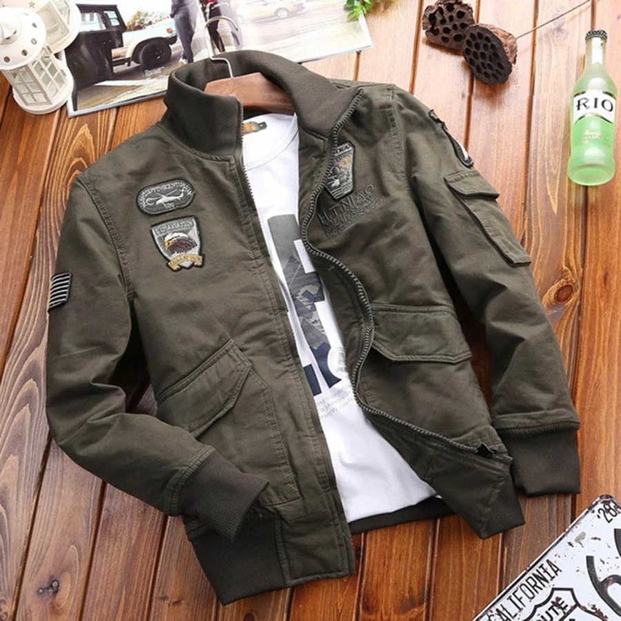Military-Jacket-Men-s-Clothing
