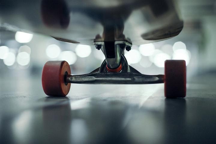 Hard skateboard wheels