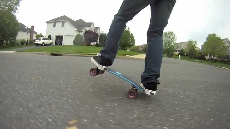 shortboard skateboard