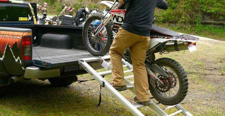 motor bike ramp