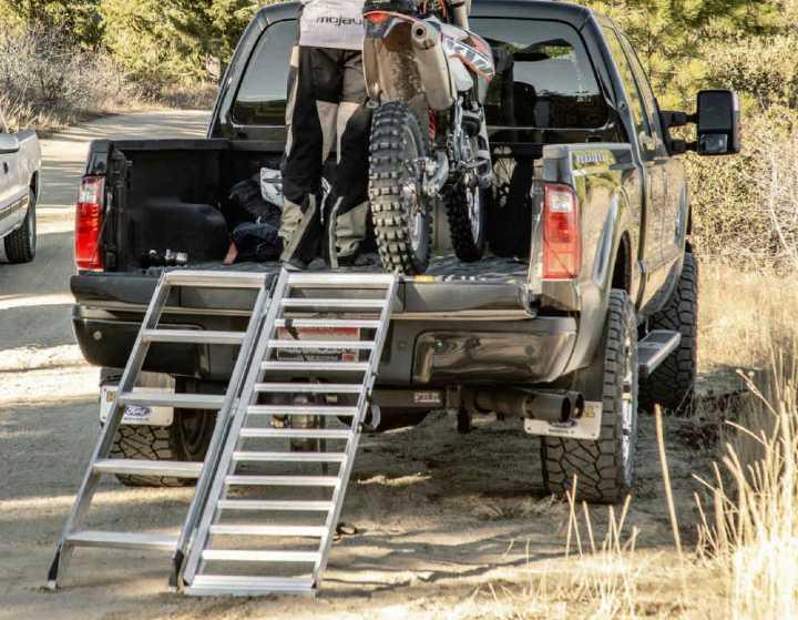 folding motorcycle ramp