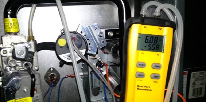 electronic pressure manometer