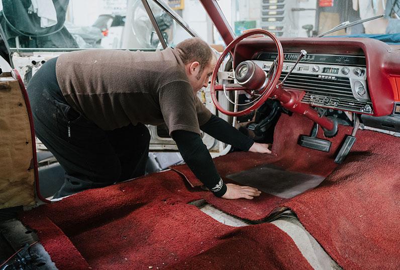 taking care of car carpet