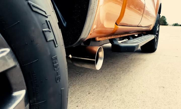 ford ranger exhaust