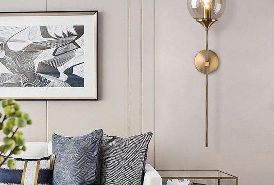 wall mount pendant light livingroom