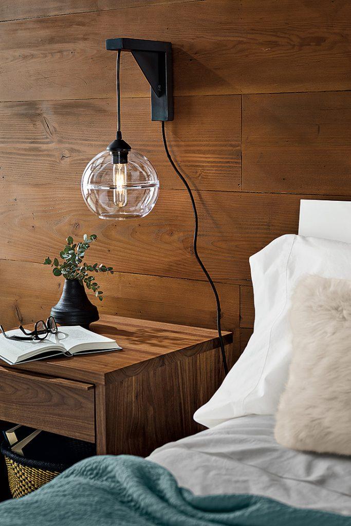 wall mount pendant lighting
